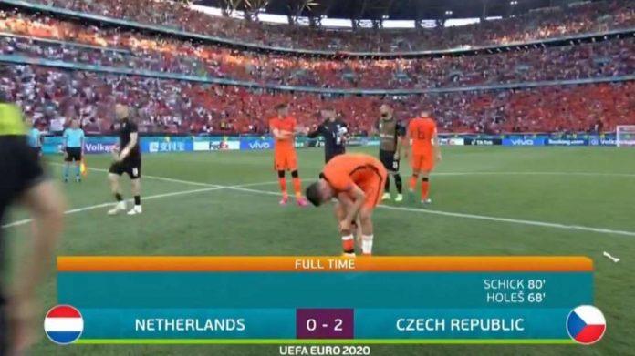 Dibekuk 2-0 dari Ceko Merupakan Kekalahan Beruntun Belanda di Ajang EURO