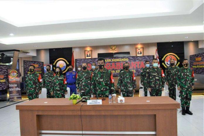 Latihan Armada Jaya XXXIX Tahun 2021