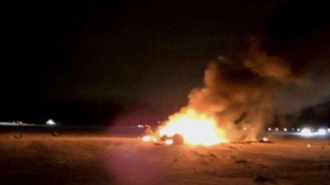 Ledakan di Pangkalan Militer Victory Amerika di Baghdad Irak