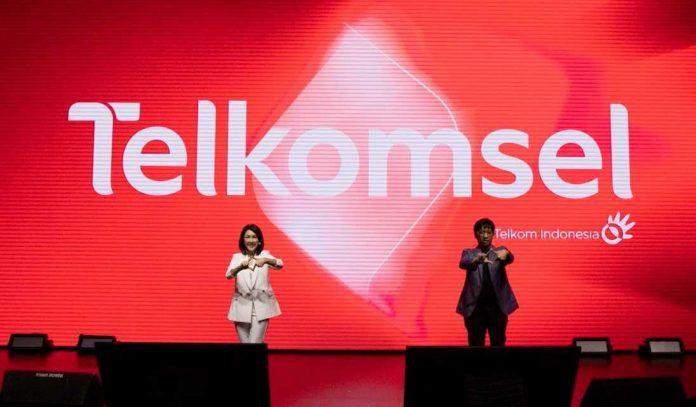 Logo baru Telkomsel 2021 #BukaSemuaPeluang