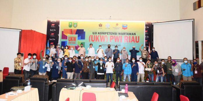 PWI Riau UKW di Dumai