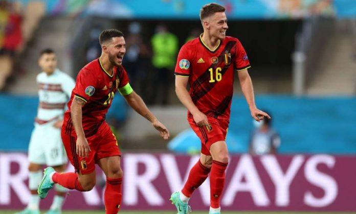 Thorgan Hazard Gol Belgia
