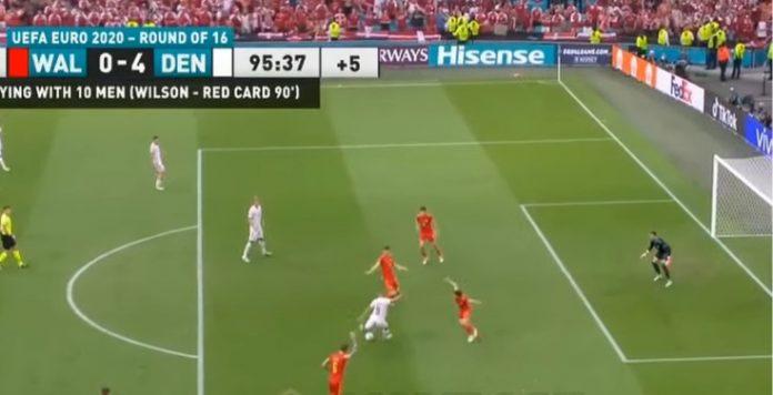 EURO 2020 Wales vs Denmark 0-4
