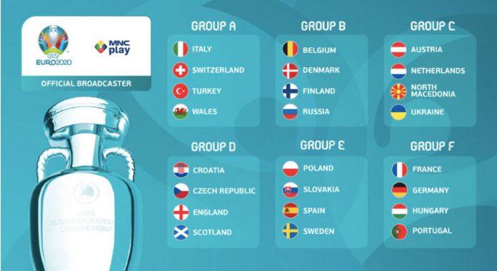 Berikut Daftar Lengkap Pemain EURO 2020