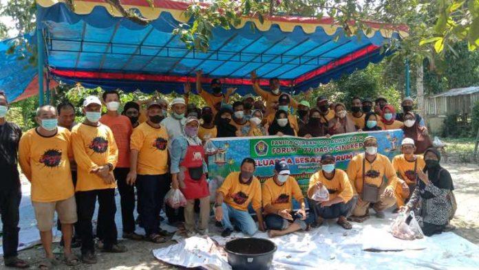 Keluarga besar forum 77 Kecamatan Singkep