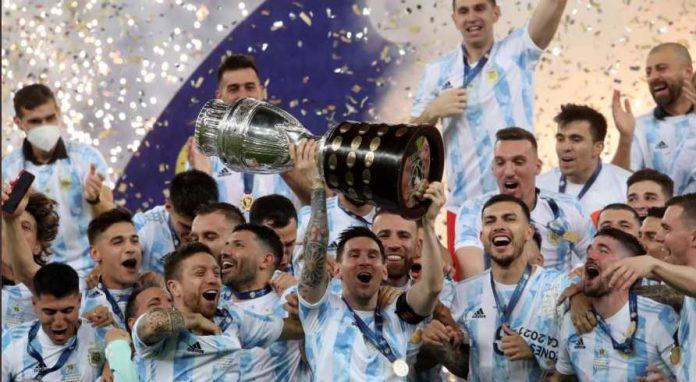 Messi Argentina Juara Copa Amerika 2021
