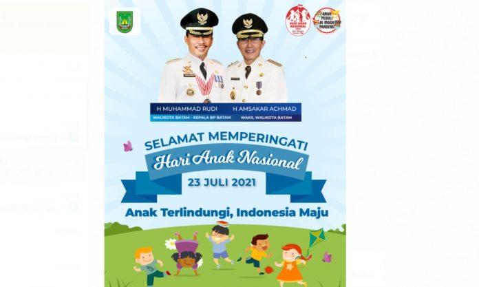 Peringatan Hari Anak Indonesia 2021