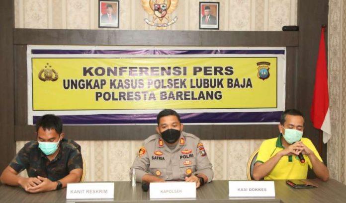 Polsek Lubuk Baja Klarifikasi Tahanan Meninggal