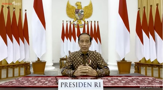 Presiden Jokowi Jelaskan PPKM Darurat paska 26 Juli 2021 untuk Pasar