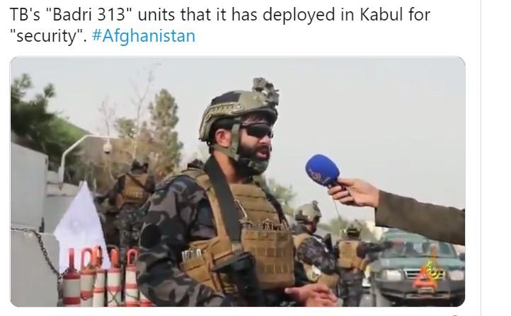 Badri 313 Pasukan Khusus Taliban
