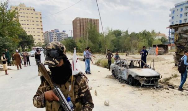 Bom Mobil ISIS-K Dilumpukan Amerika
