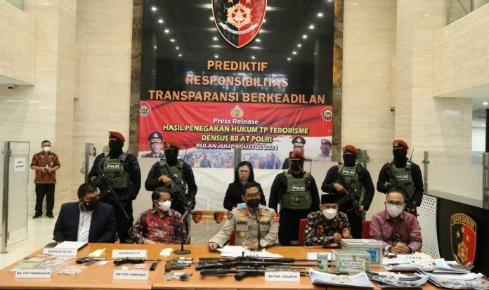 Densus dan 53 teroris indonesia