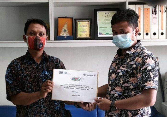 PT Timah Terus Dukung Karya Pemuda Karimun Melalui Progam CSR