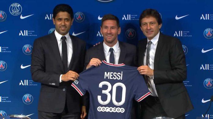 Lionel Messi ke PSG