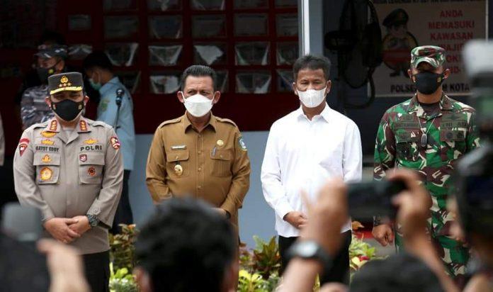 Walikota Rudi Dampingi Wakapolri di Batam