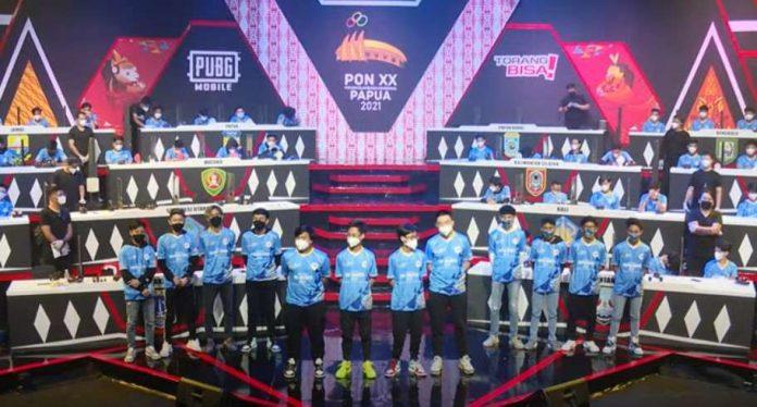 DKI Jakarta Juara 1 Eksebisi Esports PUBG Mobile PON 20 Tahun 2021