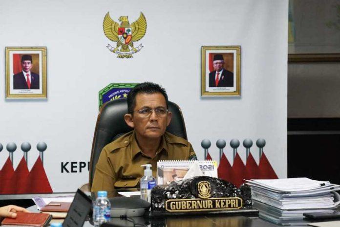 Hapus Antigen Gubernur Kepri Ansar Ahmad dan HUT Kepri