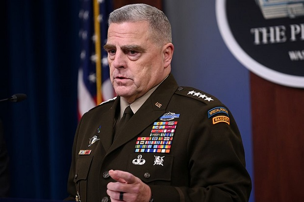 Kepala Staf Gabungan Jenderal Angkatan Darat Amerika Serikat Mark Milley