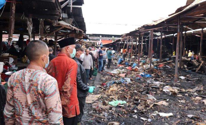 Pasar Bawah Bukittinggi Kebakaran