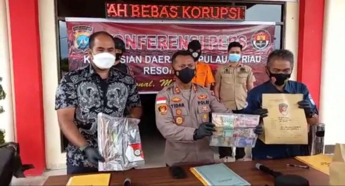 Gerak Cepat, Satreskrim Polres Bintan Bekuk Pelaku Perampokan di Puskesmas Desa Sri Bintan