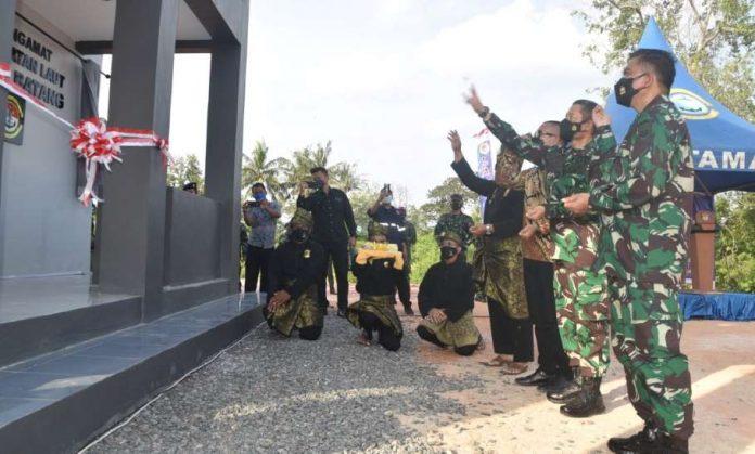 Pos Pengamat TNI AL di Galang Batang Bintan